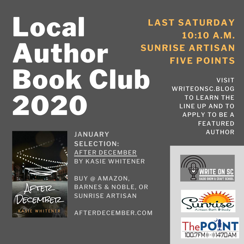 Local Author Book Club 2020 - Selection